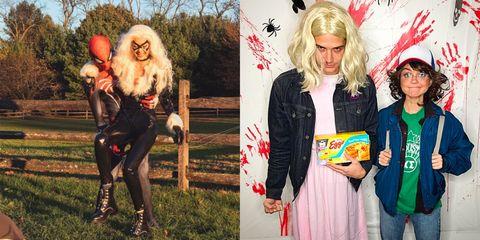 Katniss everdeen costume hunger games costumes 2018 27 cool couples halloween costume ideas solutioingenieria Gallery
