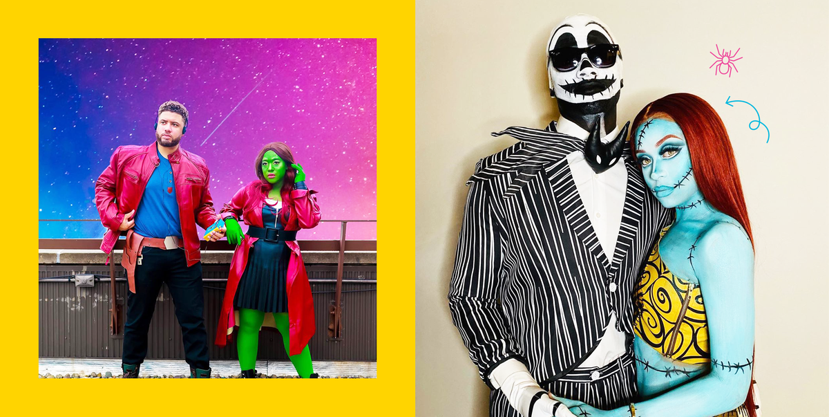 These Disney Couple Halloween Costume Ideas Are for the Truly Obsessed