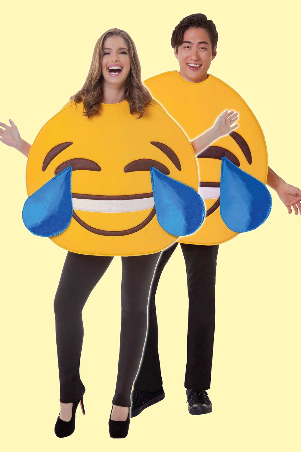 Emojis Halloween Costumes for Couples