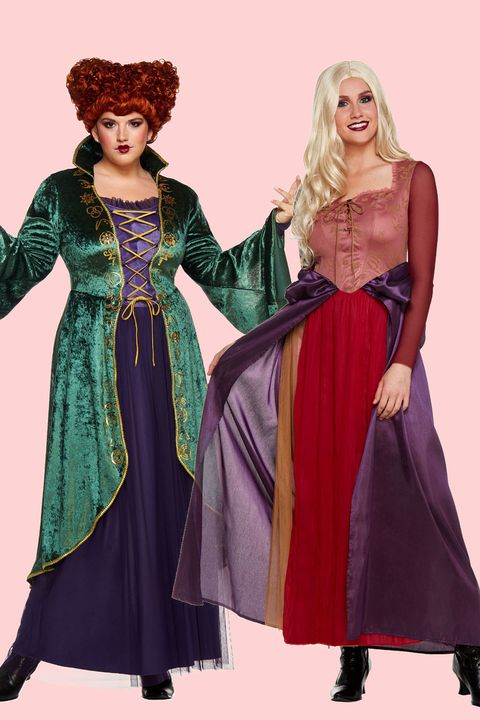 sarah and winifred sanderson halloween costumes for couples