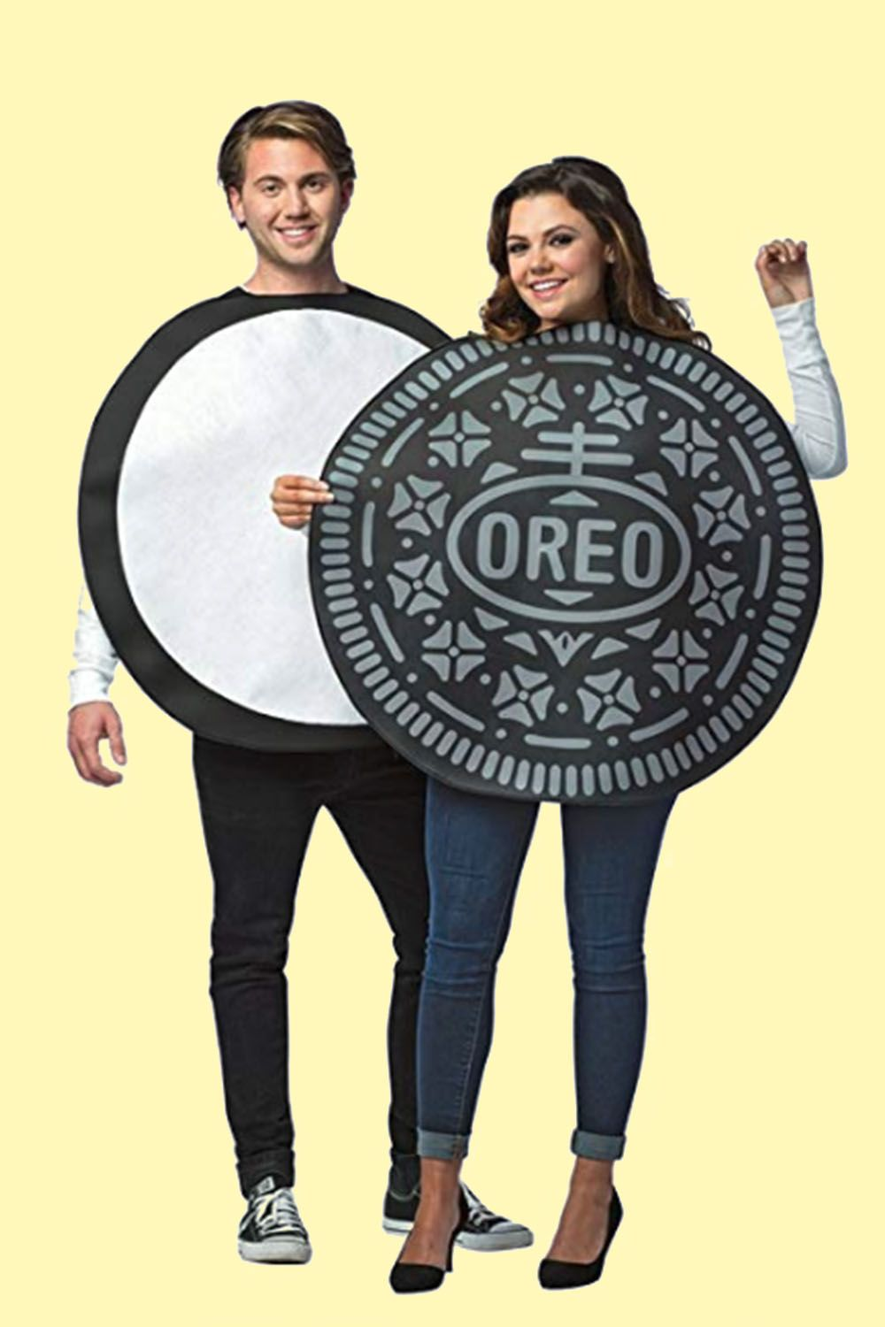 orea couples costume  sc 1 st  Good Housekeeping & 50+ Cute Halloween Costumes for Couples 2018 - Best Ideas for ...