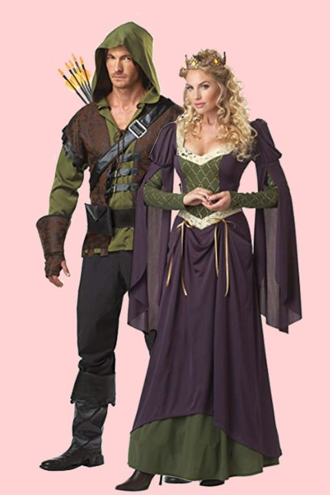 robin hood and maid marian halloween costumes for couples