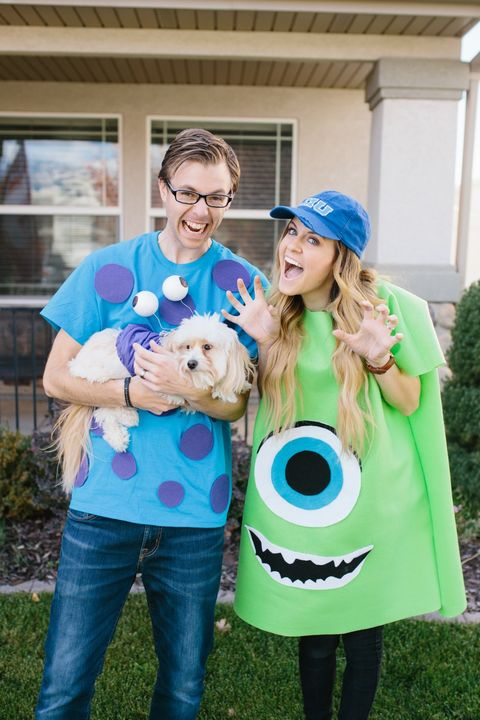 couples costumes monsters inc