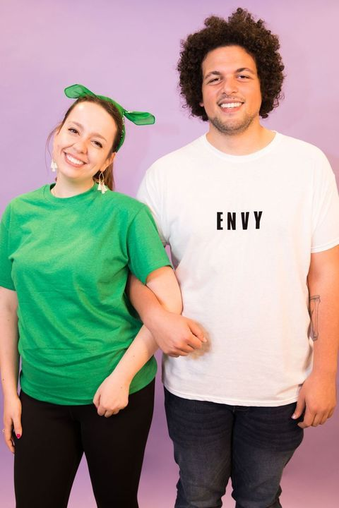 couples halloween costumes  green with envy