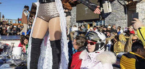 Carnival, Public event, Festival, Event, Leg, Costume, Undergarment, Thigh, Parade,