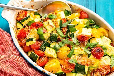 courgette tomato bake