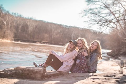 People in nature, Photograph, Beauty, Photography, Friendship, Fun, Dress, Sunlight, Tree, Love,