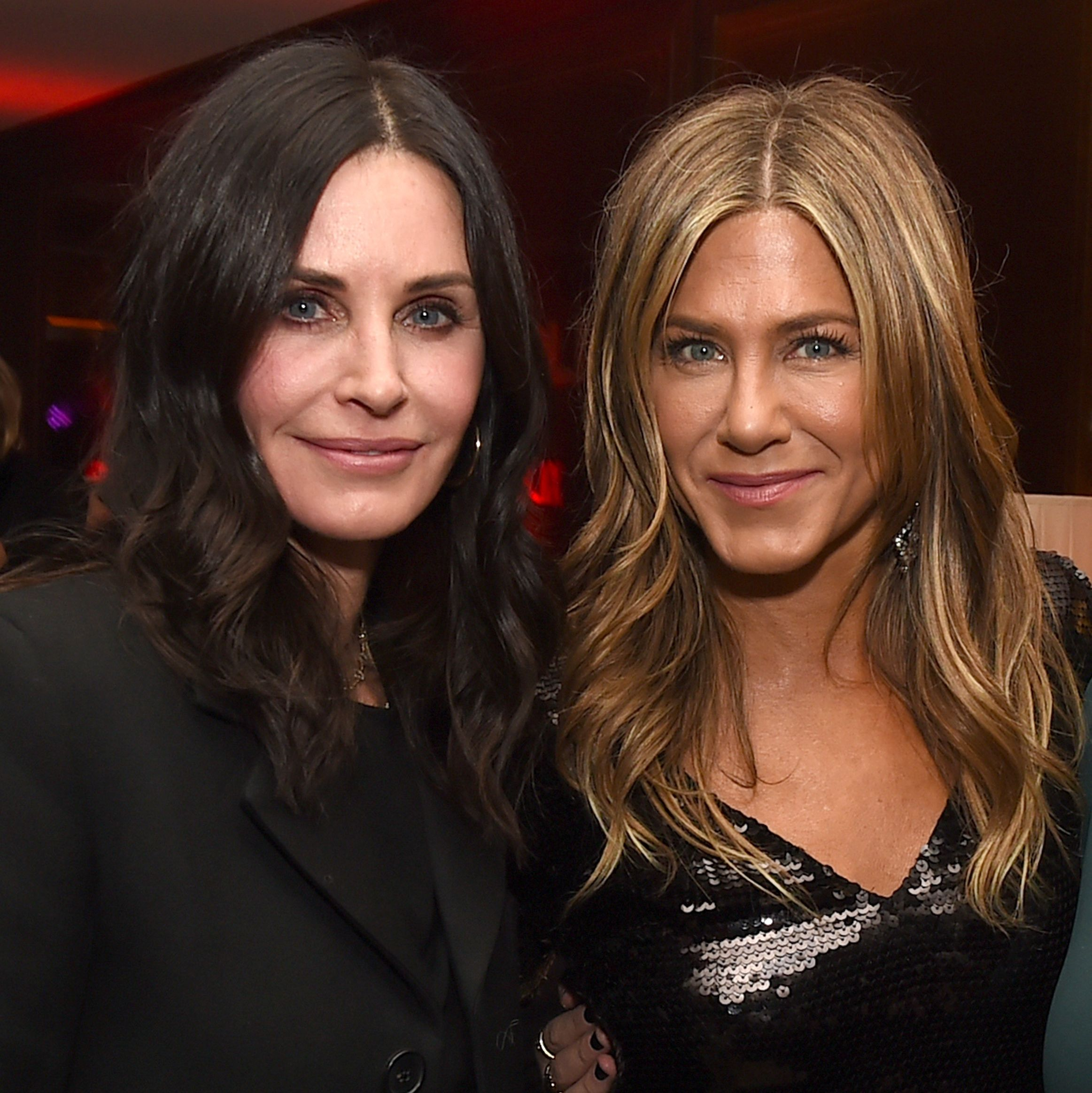 Jennifer Aniston and Courtney Cox