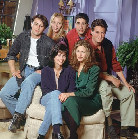 friends season 1 cast photo