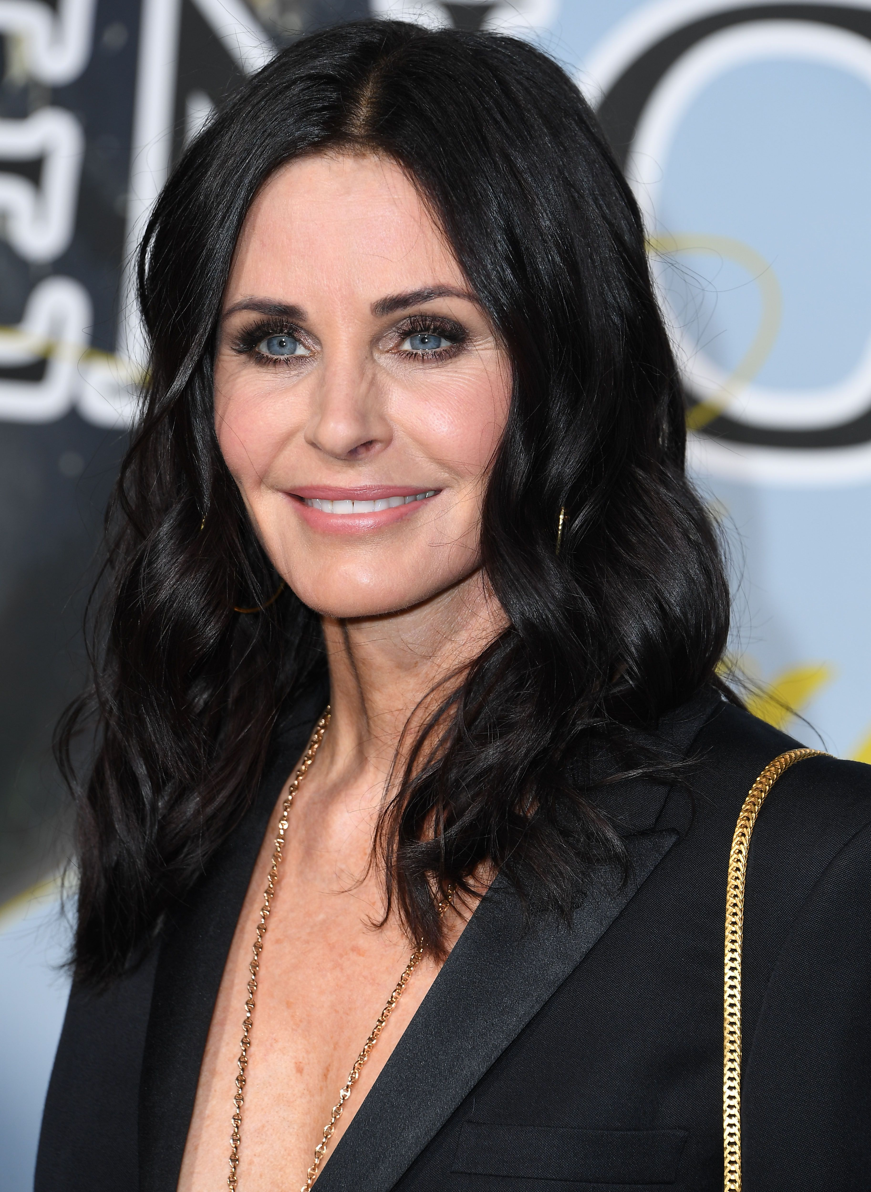 Courteney Cox shared a rare photo of daughter Coco and they're basically twins