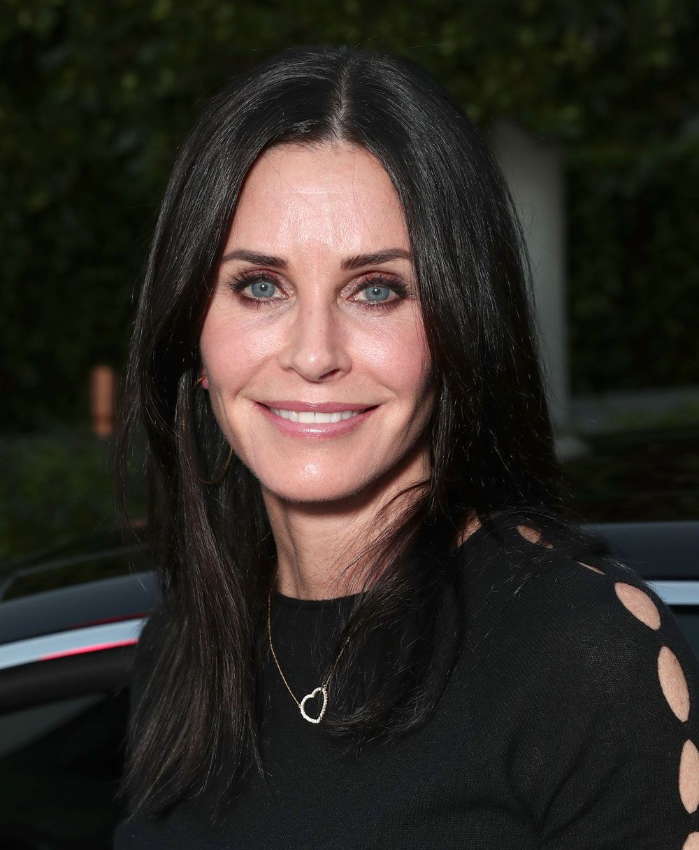Courteney Cox tried the Friends Instagram filter and this is what happened