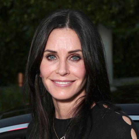Courteney Cox used the Friends Instagram filter and this is what happened