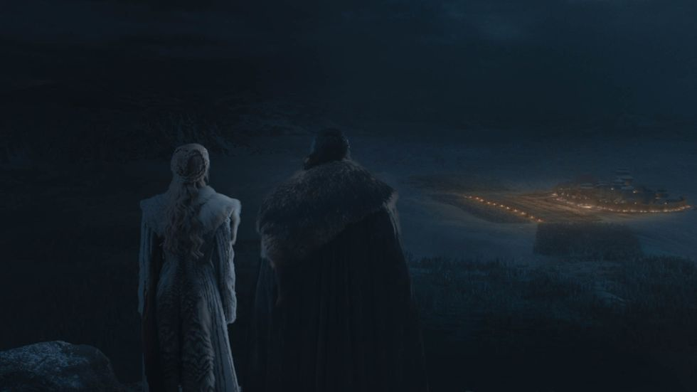 The First Photos of Game of Thrones' Battle For Winterfell Are Grim As Hell
