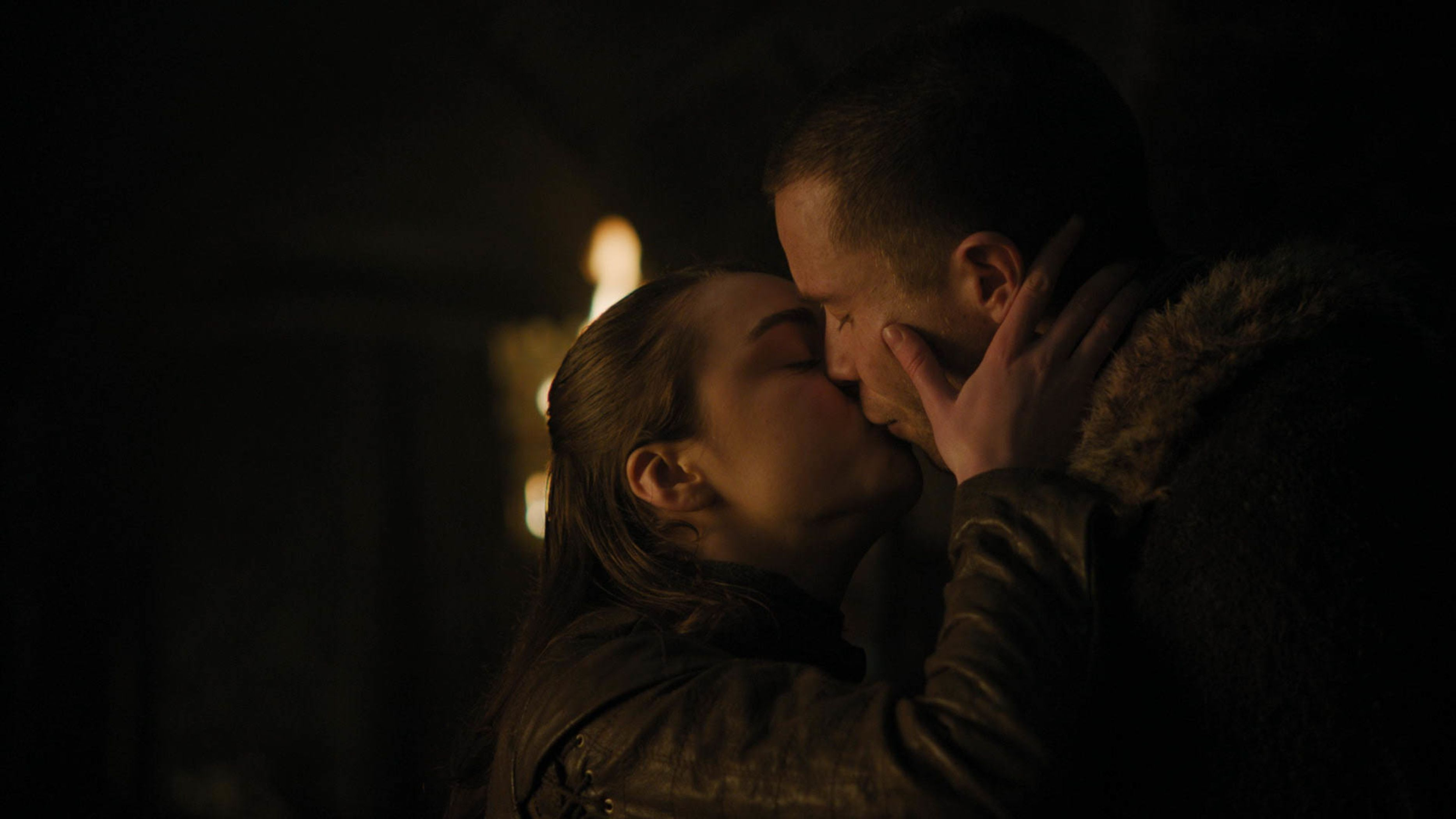 Image result for arya and gendry season 8