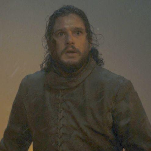 Jon Snow in Game of Thrones season 8, episode 3