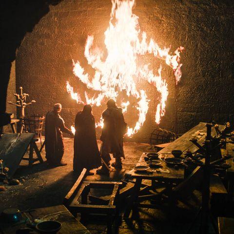 Fire, Flame, Heat, Night,