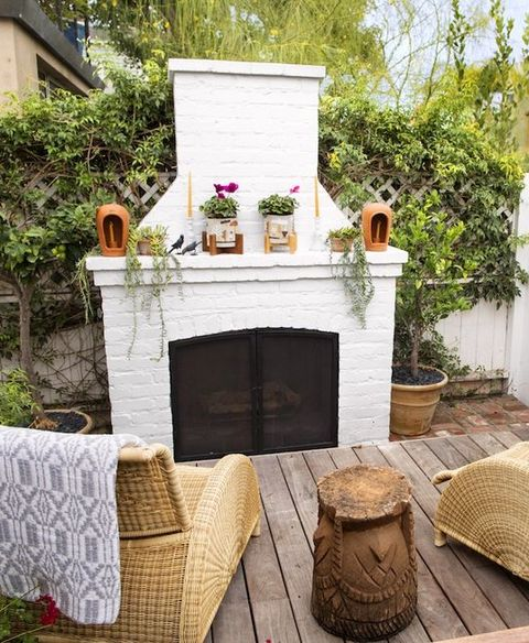 10 Painted Brick Fireplaces Brick Fireplace Ideas