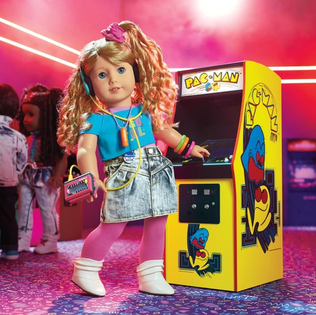 american girl's new '80s historical character, courtney moore