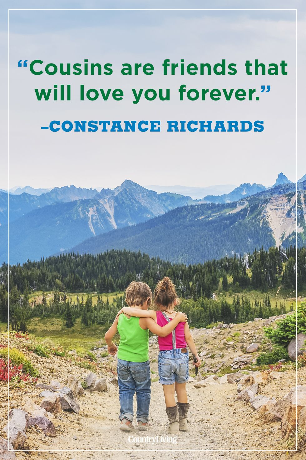cousin quotes constance richards