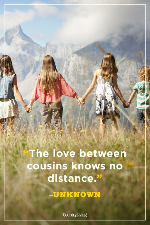 40 Best Cousin Quotes Funny Quotes About Cousins And Family Inspiration Cousin Love Quotes