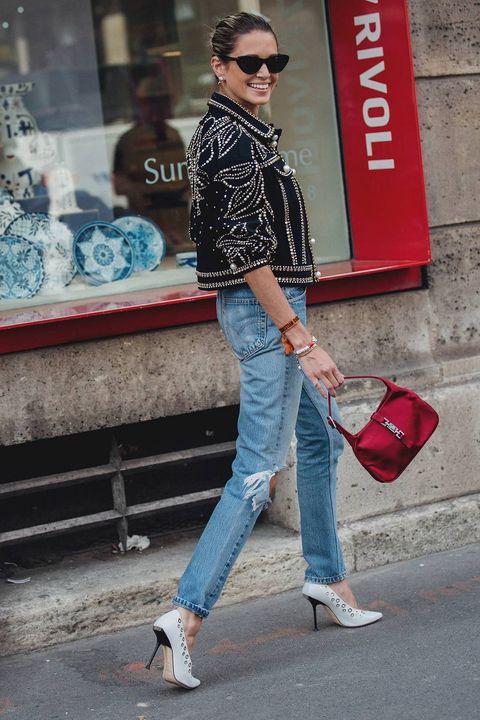 Jeans, Clothing, Street fashion, Denim, Fashion, Snapshot, Footwear, Trousers, Shoe, Textile,