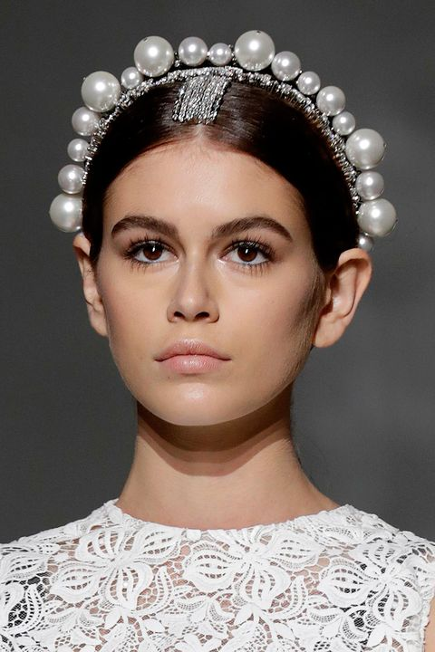 Couture fashion week - beauty look