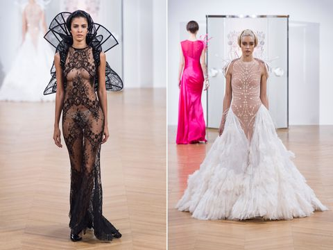 An extremely revealing wedding dress has been turning heads at ...