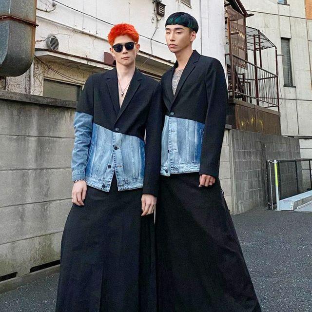 最時髦情侶穿搭範本!解析日韓模特兒taiki  noah的日常與正裝造型
