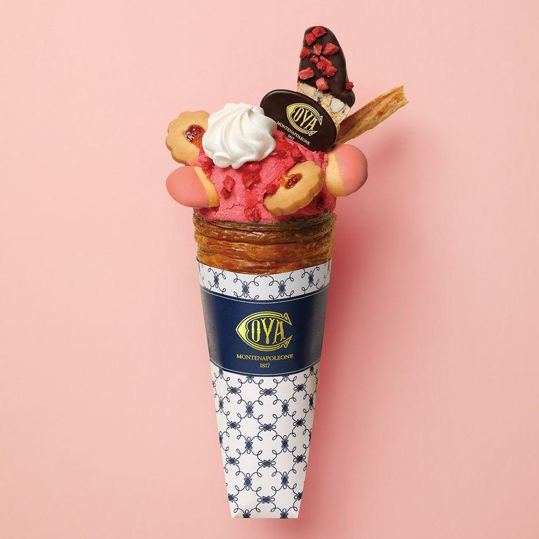 COVA,可頌,甜筒,冰淇淋