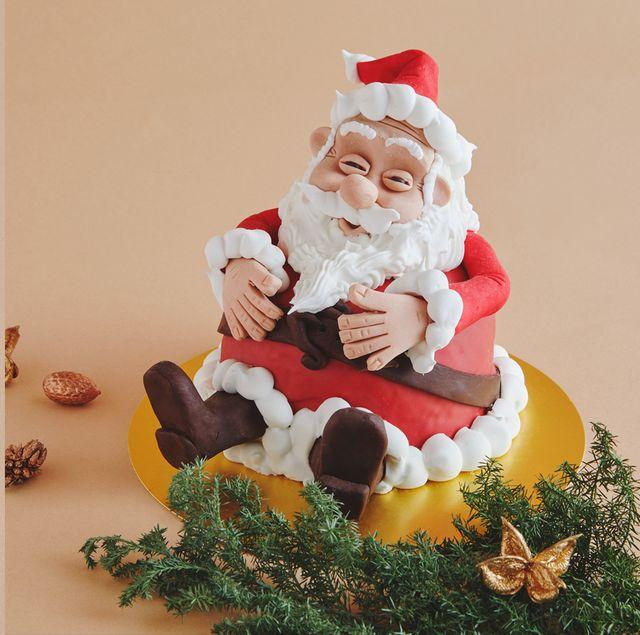 COVA銀座店 クリスマス・デコレートパネットーネ