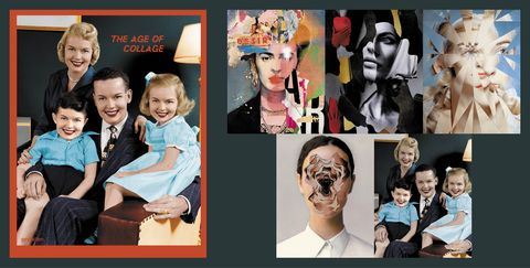 the age of collage 3, gestalten 2020, marie claire maison italia, eclectic collage 2021