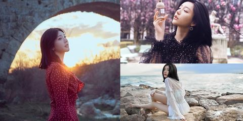 Photograph, Beauty, Collage, Photography, Long hair, Summer, Photo shoot, Model, Art, Photomontage,