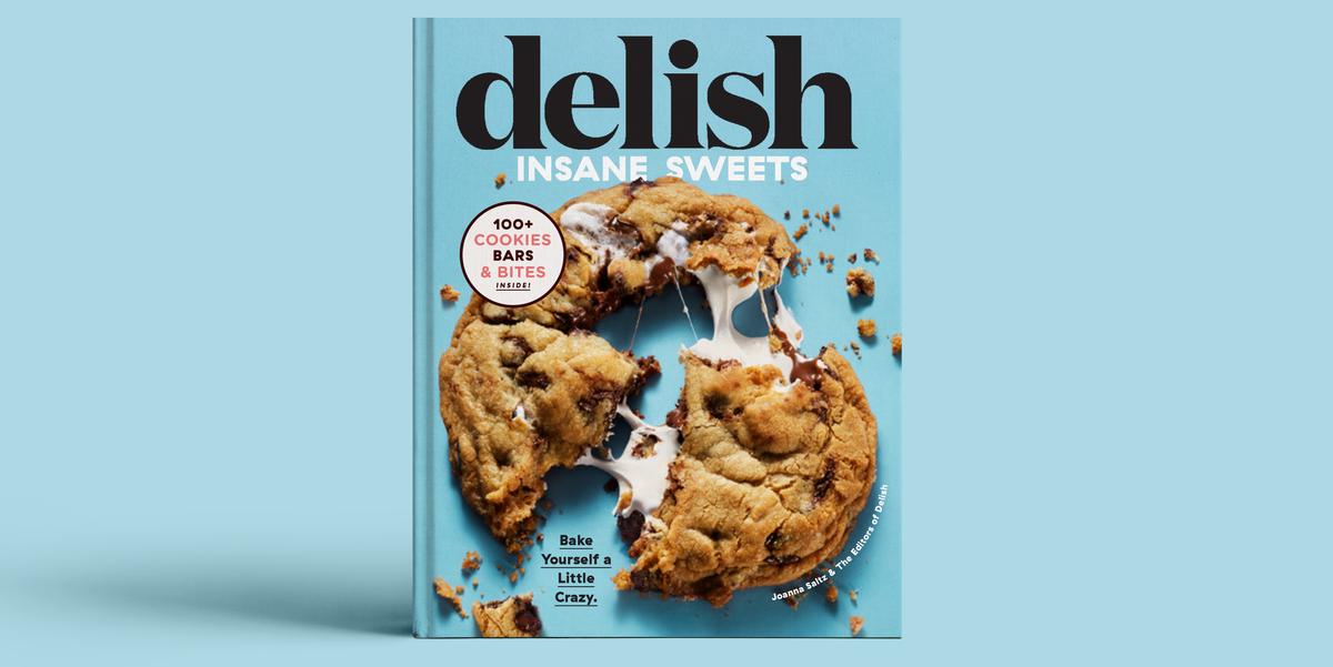 Pre-Order The Delish Insane Sweets Cookbook!
