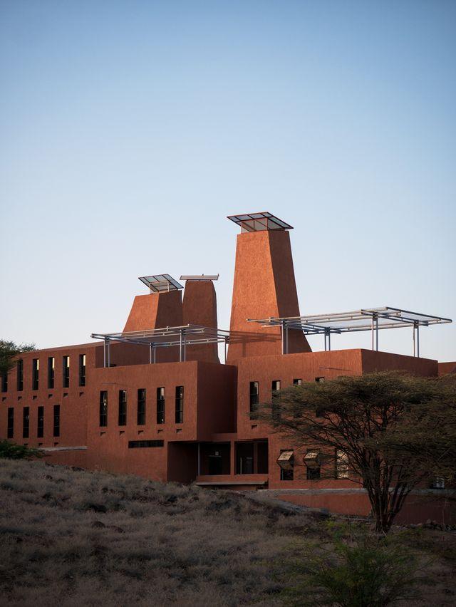 startup lions campus, di kéré architecture