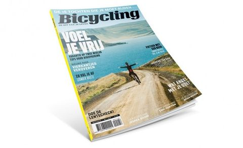 bicycling, nummer 1, 2018, magazine