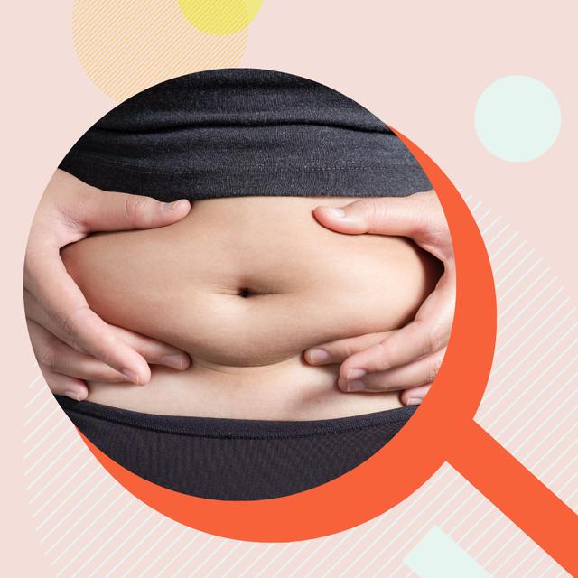肥肚,腹部,馬甲線