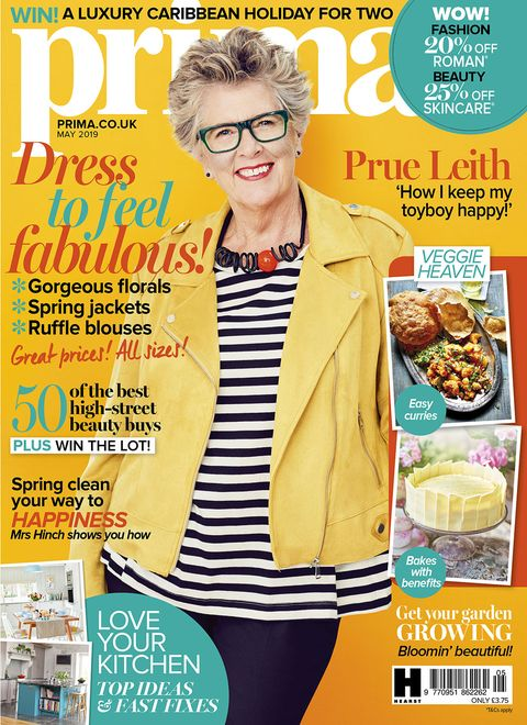 Prue leith Prima May issue