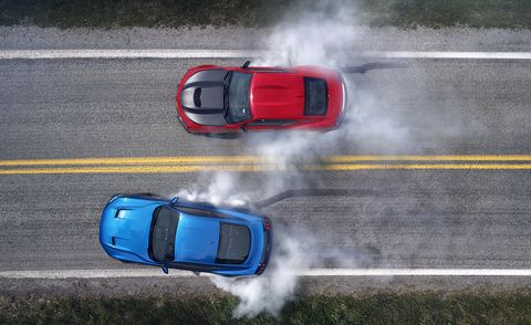 2019 Chevrolet Camaro SS 1LE vs. 2019 Ford Mustang GT Performance Pack Level 2