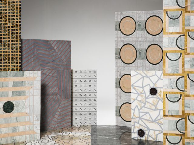 Tile, Wall, Flooring, Floor, Room, Design, Architecture, Interior design, Material property, Pattern,