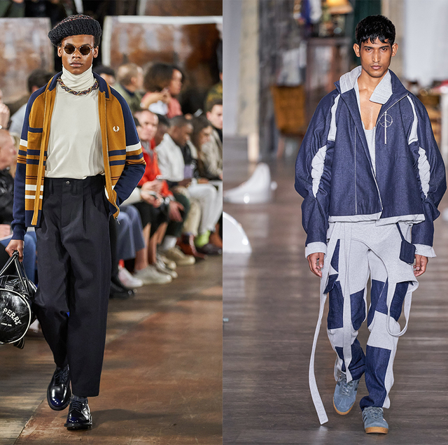 London Fashion Week Men's otoño invierno 202 Moda para hombre