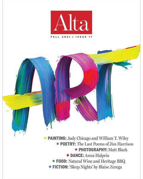 alta, fall 2021 cover, art