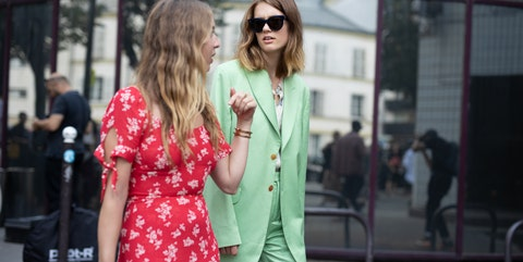 Street fashion, Photograph, Clothing, Red, Fashion, Pink, Eyewear, Snapshot, Sunglasses, Street,