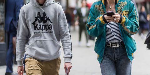Clothing, Street fashion, Hoodie, Cool, Outerwear, Fashion, Jeans, Human, T-shirt, Sleeve,