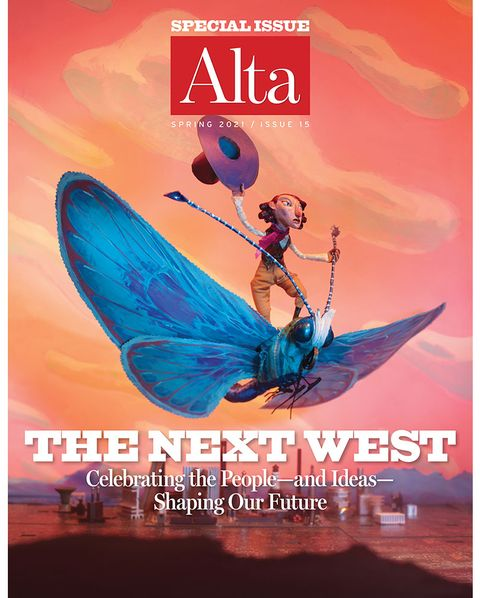 alta, spring 2021, issue 15, cover