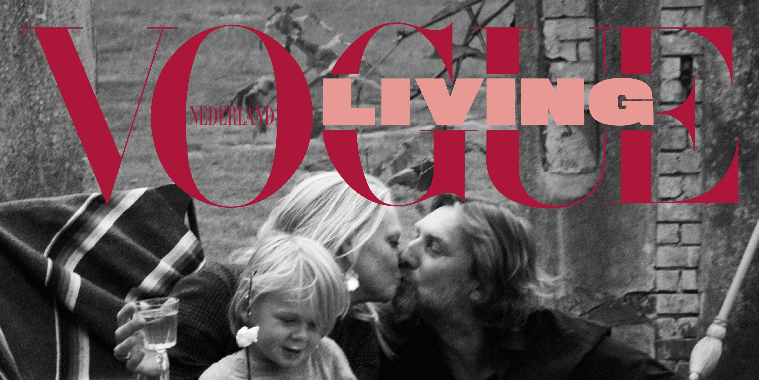 Cover Vogue Living, winter 2018 met Karin Swerink door Paul Bellaart
