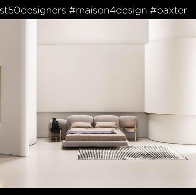 andrea ferrari, federico peri, baxter, best 50 designer, marie claire maison italia, design maggio 2021