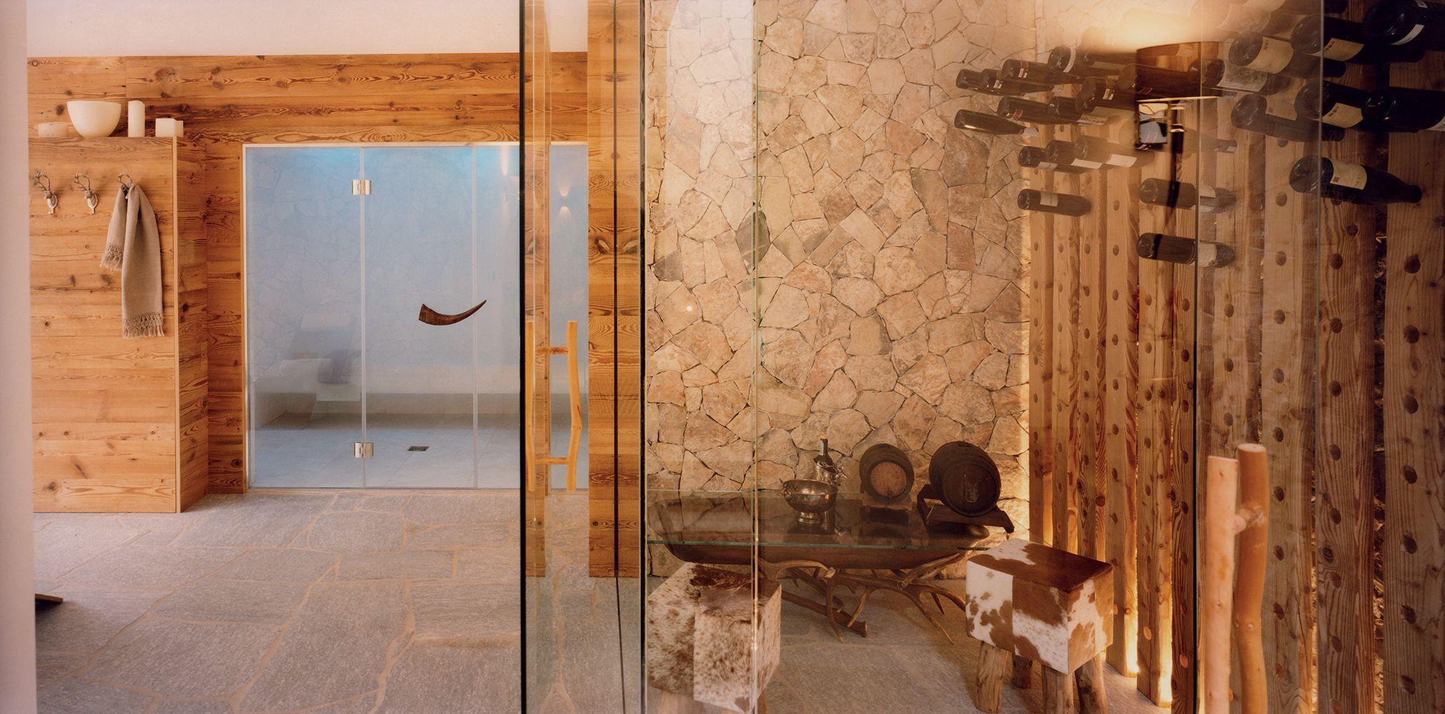 Sauna In Casa Consumi quando la spa è di casa. e il benessere diventa un rito