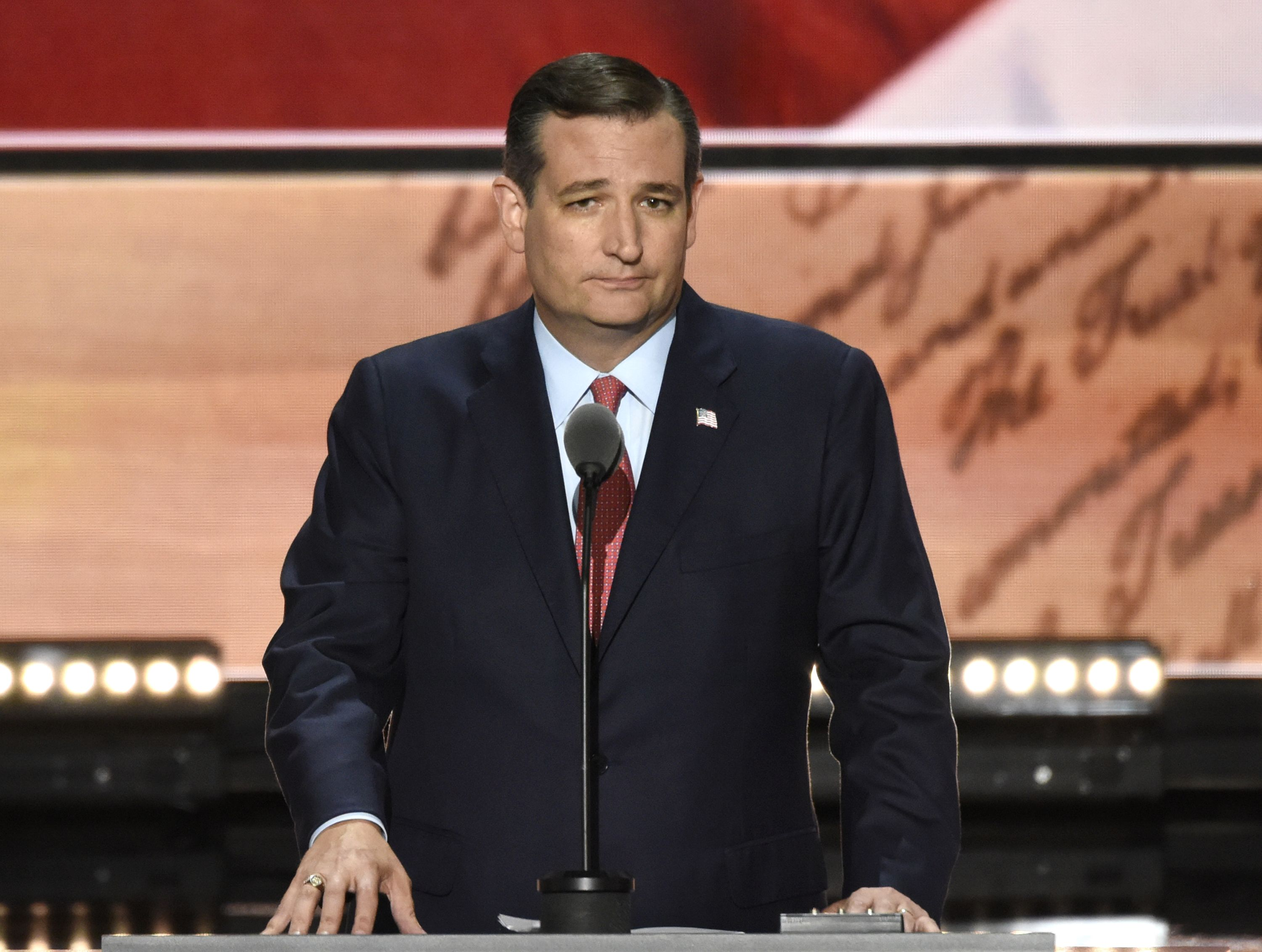 Ted Cruz's Tacky Joke About Disney and Notre Dame Has Caught the Internet's Ire