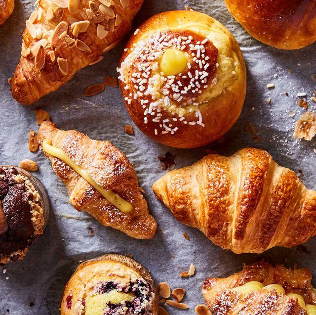 Food, Dish, Croissant, Cuisine, Viennoiserie, Baked goods, Ingredient, Lye roll, Rugelach, Baking,
