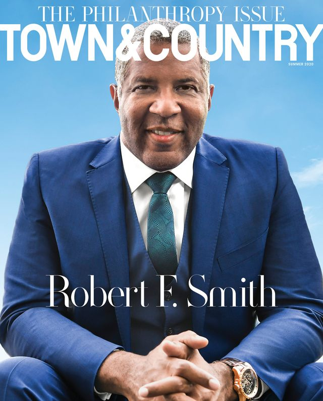 robert f smith on the cover of town  country magazine